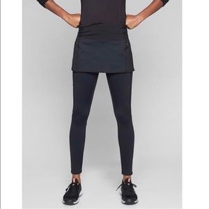 Athleta High Traverse 2 in 1 Tight with Skirt